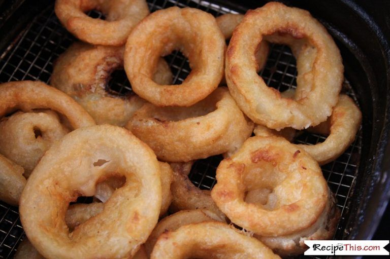 Air fryer frozen onion rings recipe this recipe in