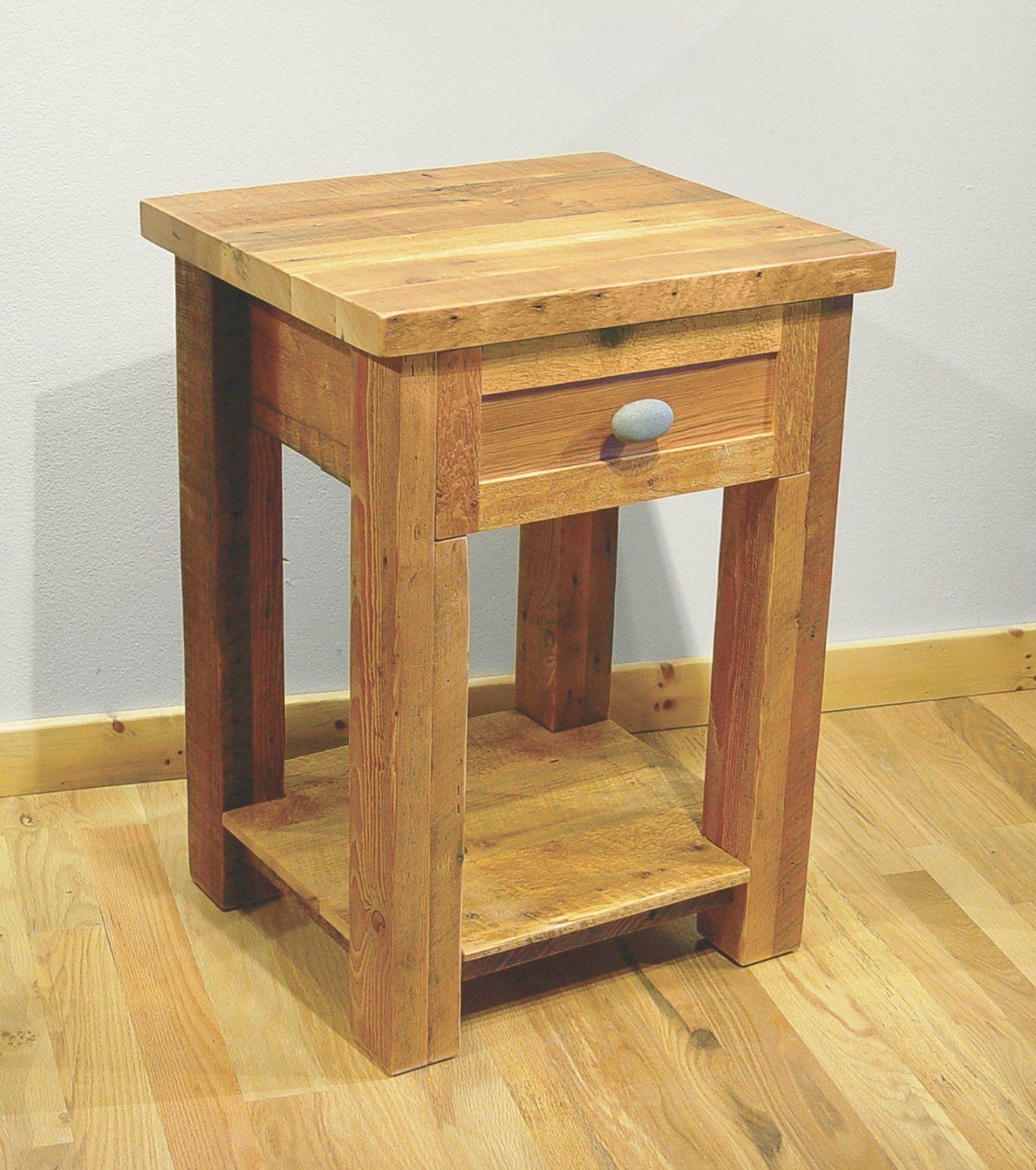 Zurückgefordert Holz Nachttisch Pottery Barn