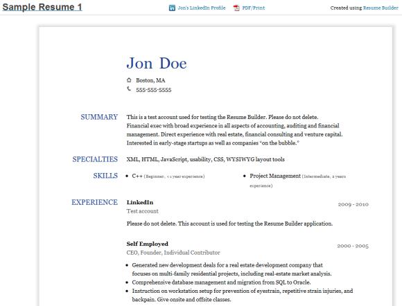 Create A Resume 7 Resume Builder Free Resume Builder