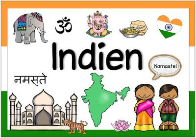 "Photo of Länderplakat ""India"" Dette neste Länderplakat er fruktig. Das Plakat zu …"