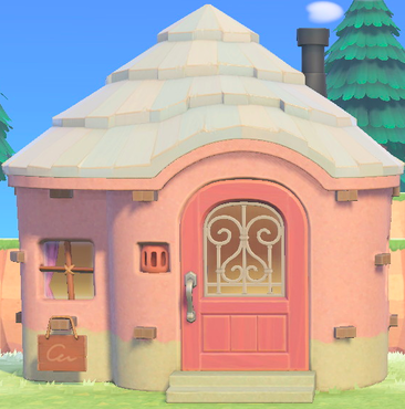 Pin By Rrf On Acnh Villager Houses Animal Crossing Villagers Flora Animal Crossing