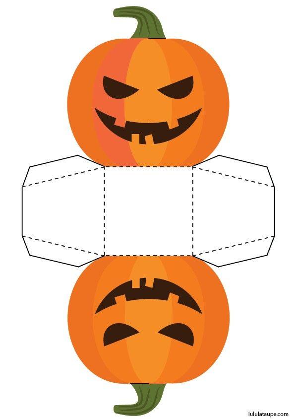 Caja Abierta Para Halloween Cosas De Halloween Calabazas De Halloween Decoración De Fiesta De Halloween