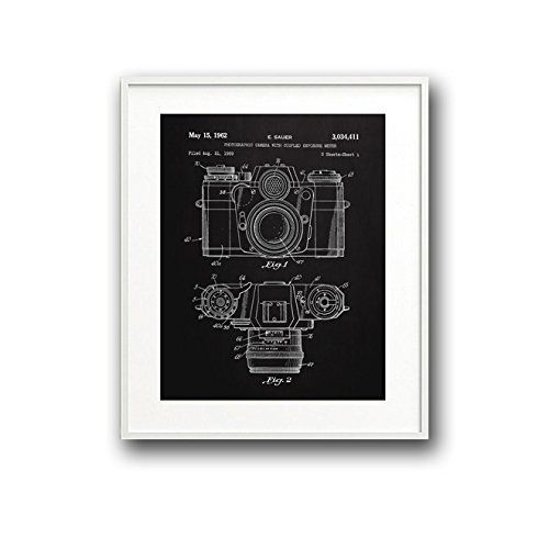 Camera blueprint art print for home or office available in 5x7 camera blueprint art print for home or office available in 5x7 8x10 11x14 and 16x20 printed on premium lustre photo paper custom colors or custom malvernweather Gallery