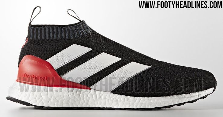 super popular 346c9 b45de The Adidas Ace 16+ PureControl Ultra Boost Red Limit introduces a bold look  that draws inspiration from Adidas new Ace 17+ PureControl soccer boots.