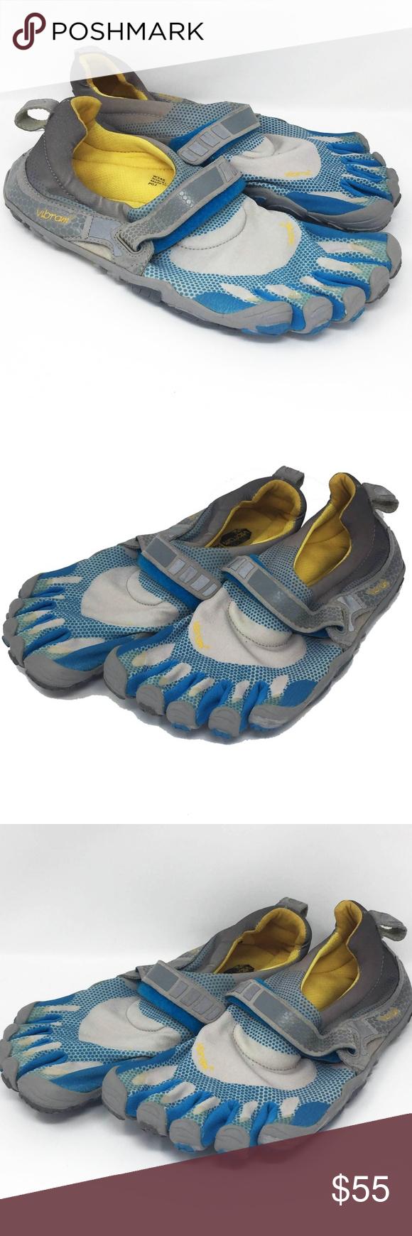 brand new 04aa6 e129d Vibram FiveFingers W346 Bikila Size Euro 41 Vibram W346 Bikila Sky Blue    Dark Grey   Grey Sky Blue Womens Barefoot Minimalist Toe Shoes EU 41 US 9  1 2 All ...