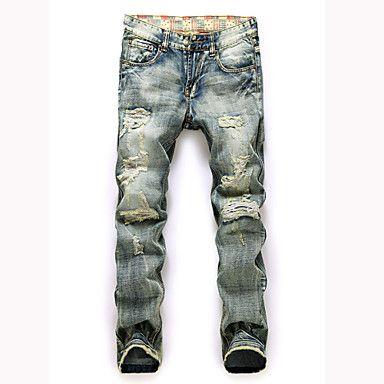 Men's+Pant+,+Cotton+Casual/Work/Sport/Plus+Sizes+AILANTING+–+USD+$+26.99