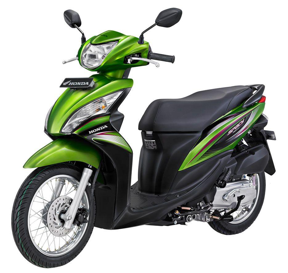 Harga dan Spesifikasi Honda Spacy Helm in PGMFI Mei 2015