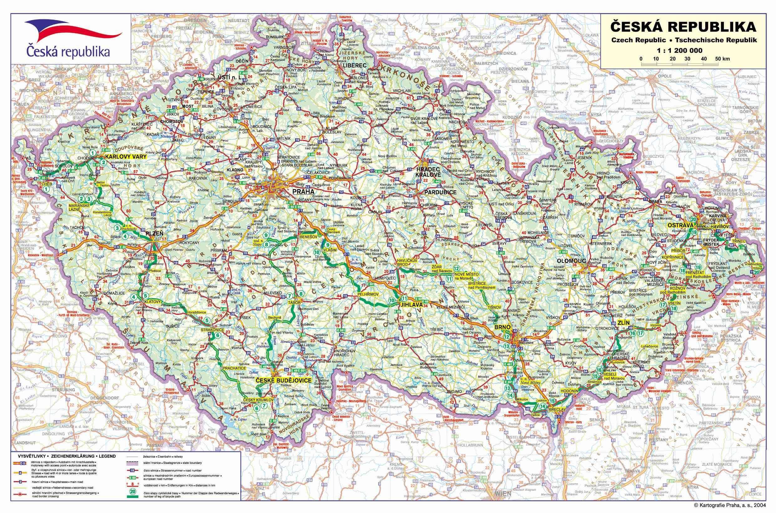 Mapa Ceske Republiky K Vytisknuti Mapa Statues Kresleni