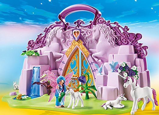 Amazon De Playmobil 6179 Einhornkofferchen Feenland Playmobil Feen Playmobil Feenwelt Playmobil Ritter Pl Playmobil Playmobil Fairies Playmobil Deutschland