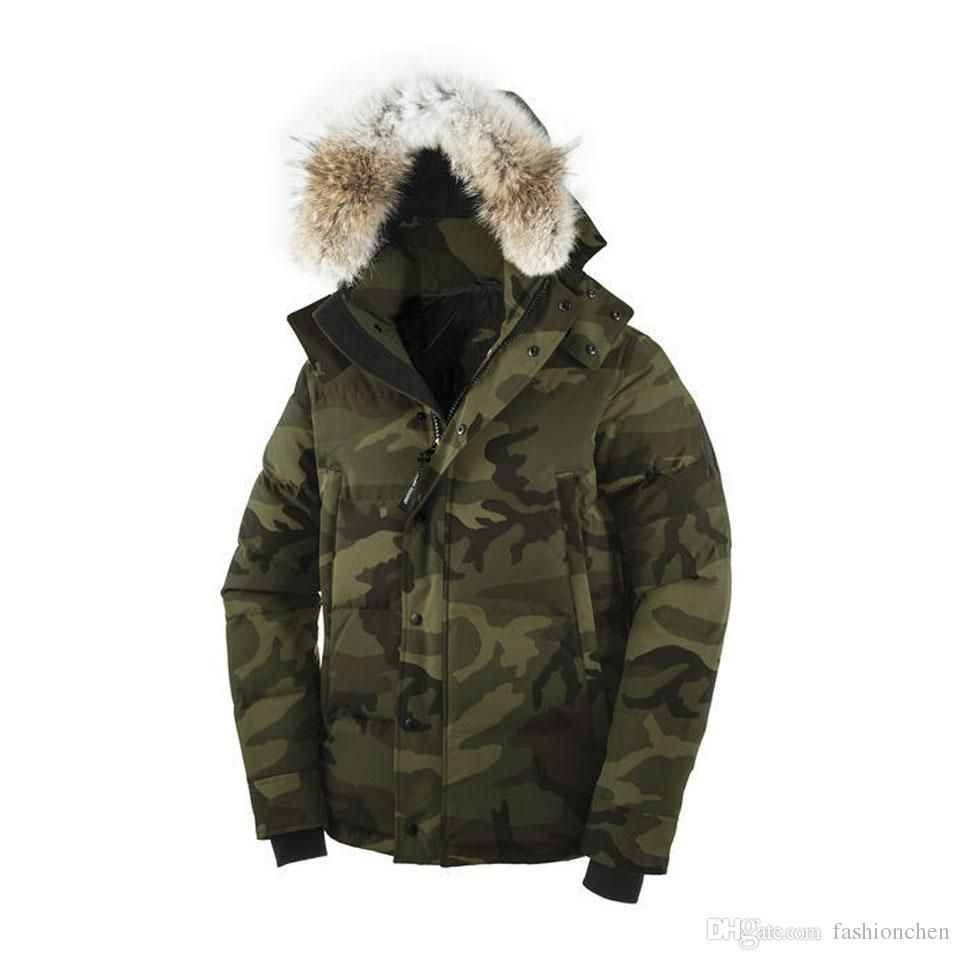 New Arrivals Canadian Brand Mens Wyndham Parka Winter Goose