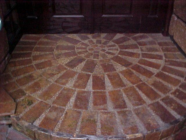 Circular Brick Patio Patterns Google Search Inexpensive Patio