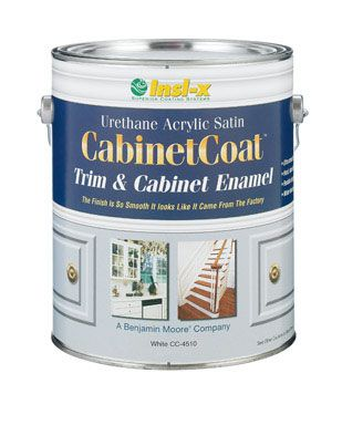 Insl X Cabinet Coat Acrylic Satin Enamel   Self Leveling, No Brush Marks,  Latex That Dries Hard Like Enamel. I Need To Remember For When I Finally  Paint My ...