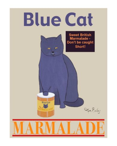 Blue Cat Limited Edition By Ken Bailey At Art Co Uk With Images Blue Cats Cat Posters Cats