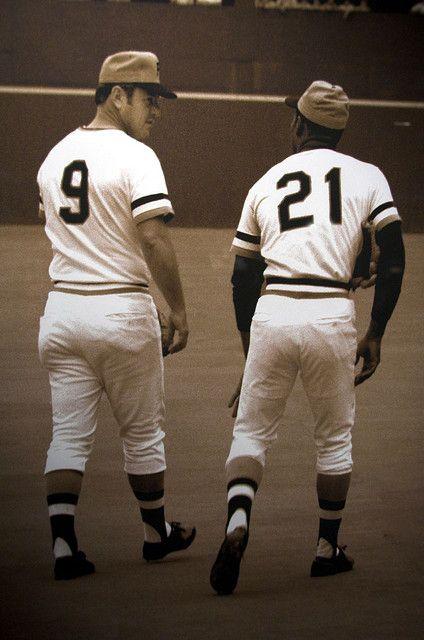 Roberto Banos.Maz And Clemente By Les Banos Pittsburgh Pirates Baseball