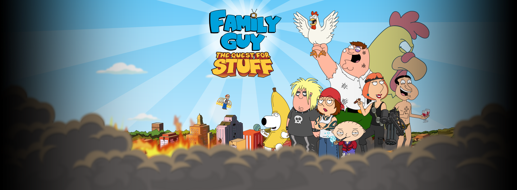 Family Guy The Quest for Stuff Releasing on iOS and