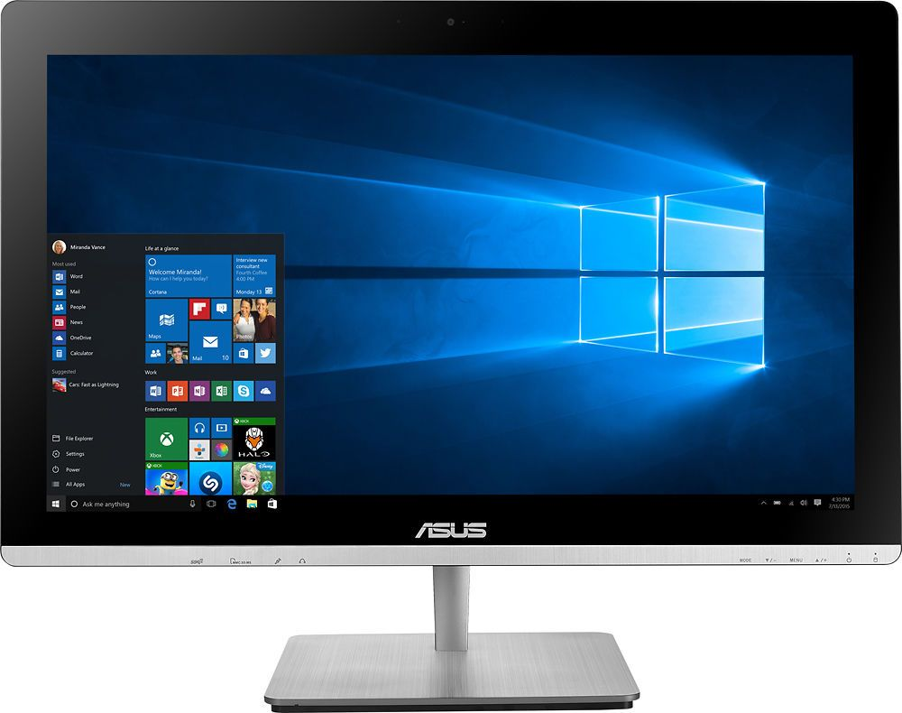 asus 23 touch screen all in one intel core i5 8gb memory rh pinterest com