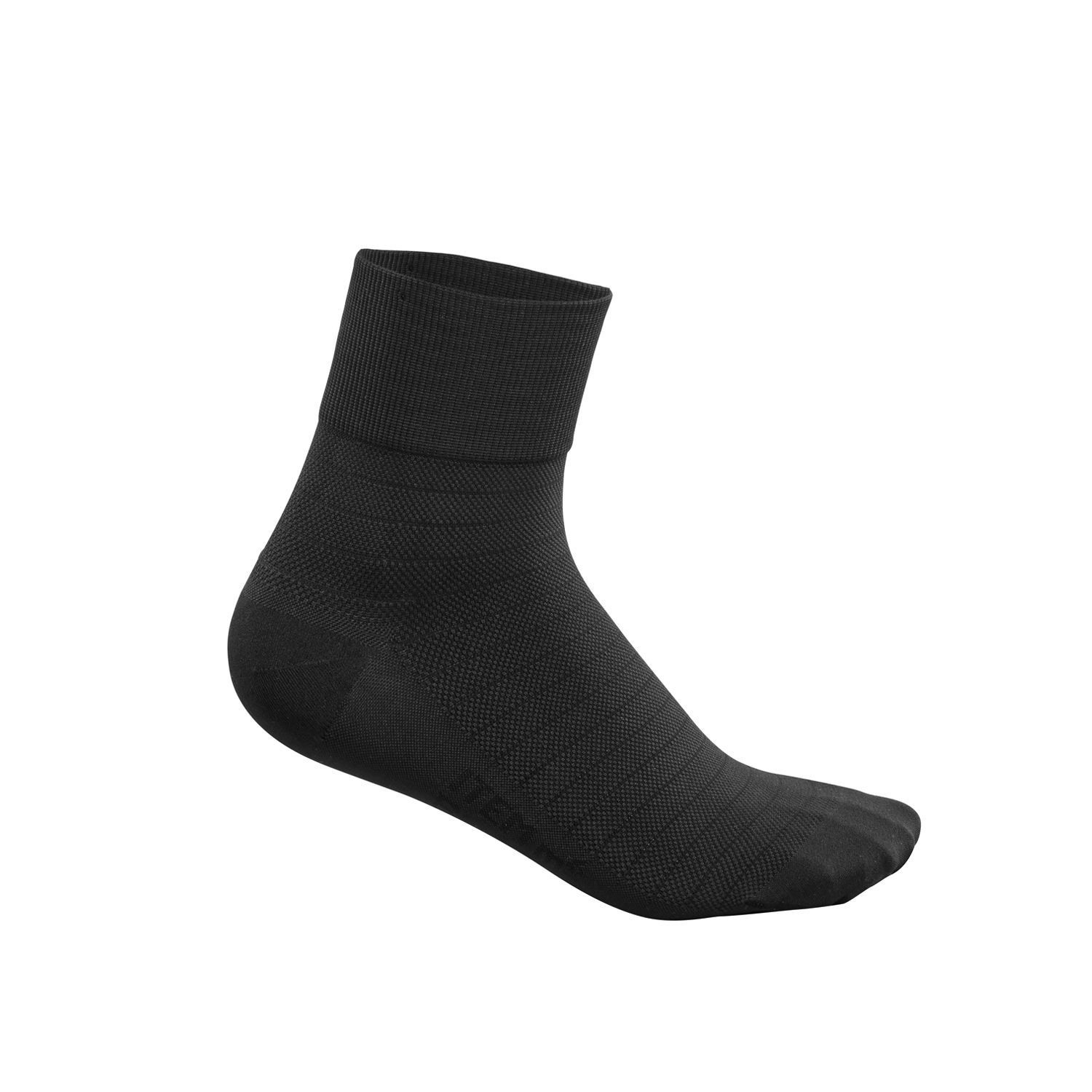 93010871ee49c ITEM m6 Black PLAY socks feature pique stripe structure, extra large ribbed  cuffs, and