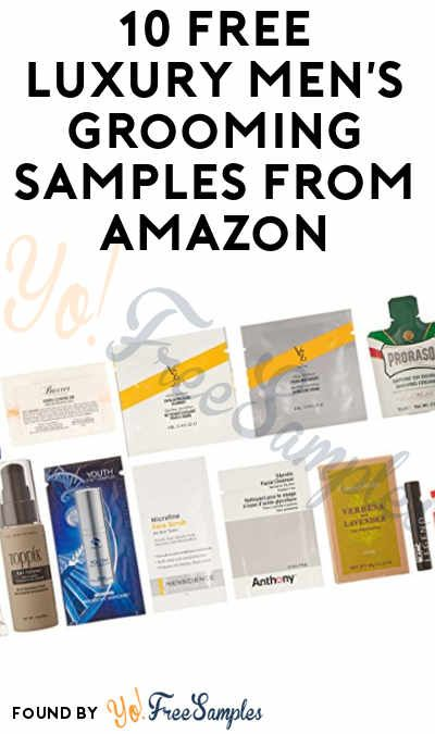 10 FREE Luxury Men\u0027s Grooming Samples From Amazon Sample Box After