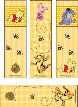 love these winnie the pooh bookmarks Follow for Free too