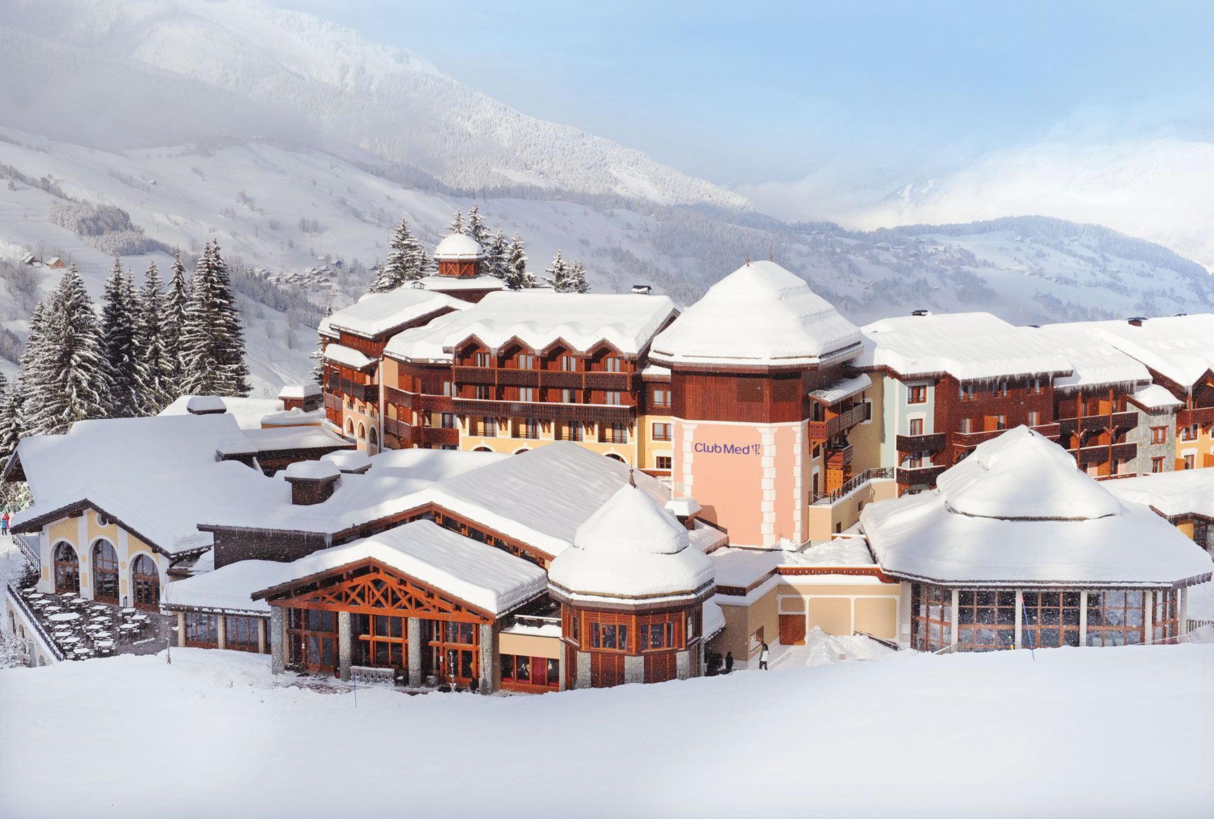 Club Med Valmorel In The French Alps