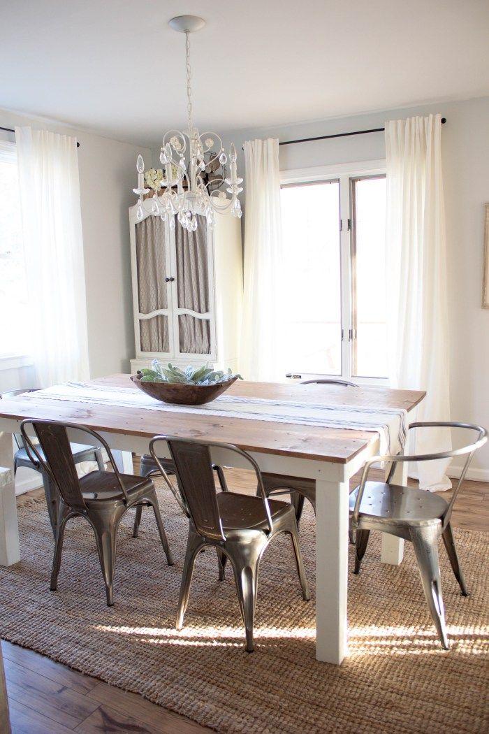 Home // Farmhouse Dining Room Farmhouse dining room rug