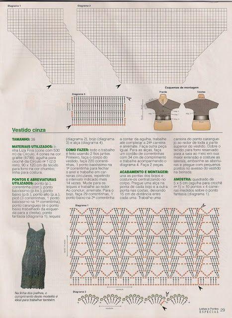 Crochet dresses - diamondinapril - Álbumes web de Picasa