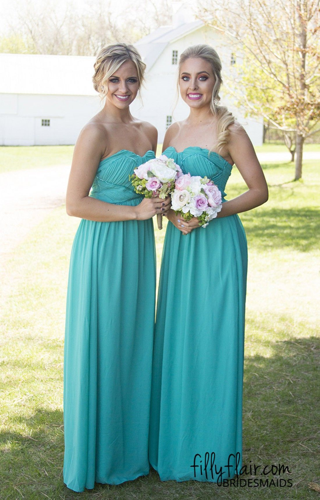 This color of bridesmaid dress is gorgeous bridesmaid dress