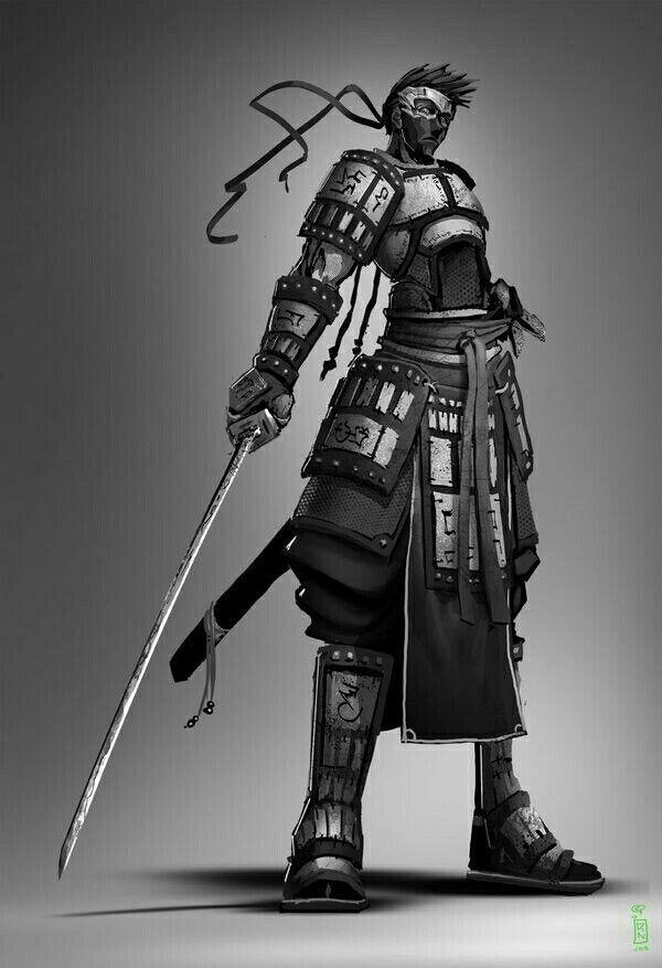 Ninja samurai | Ninja art, Character art, Samurai art