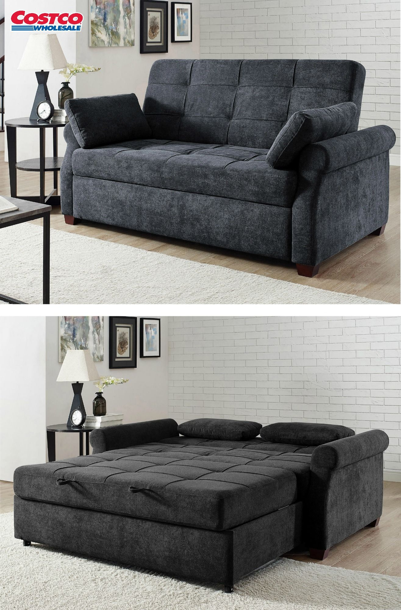 Enjoy A Contemporary Look That Adds Comfort And Style To Your Home With The Bryson Fabric Queen Sleeper Sofa This So Mattress Furniture Sleeper Sofa Furniture