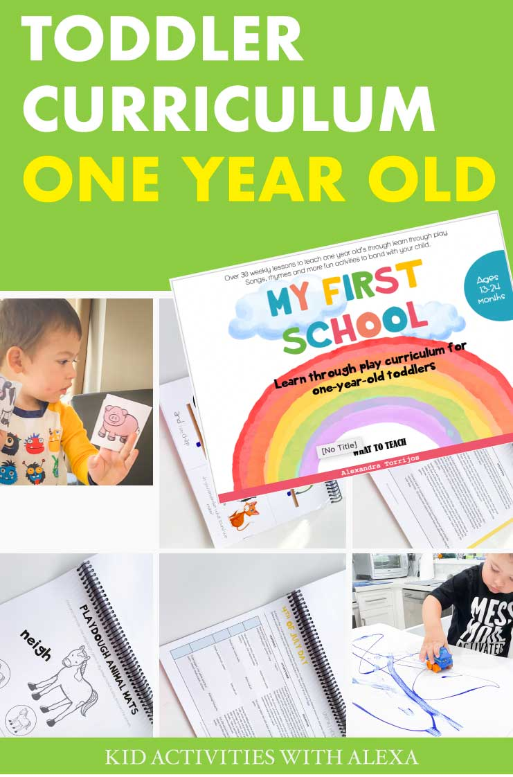 My First School: A One Year Old Curriculum - Kid Activities with Alexa