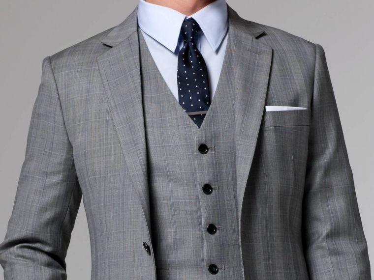 The Essential Prince of Wales 3 Piece Suit | Indochino