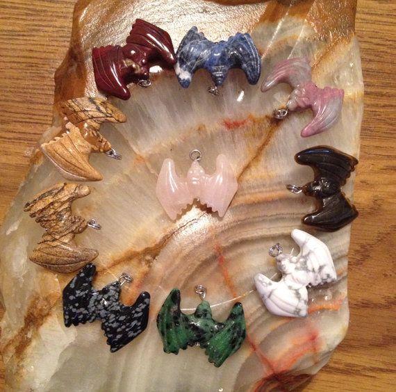 Rose Quartz Natural Gemstone Hand Carved Crystal by BellaLuna76, $14.00
