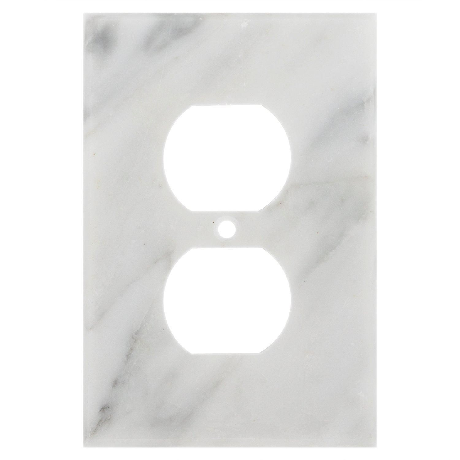 Carrara White Marble Outlet Plate Marble Room Decor Marble Room Marble Bedroom