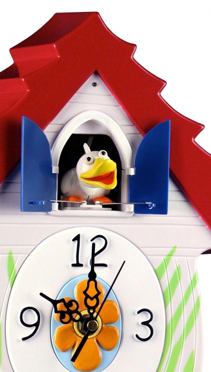 Cuckoo Kingdom Inc Quackcoo Coo Duck Cuckoo Clock