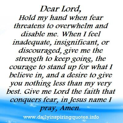 """Mathew 14: 27 """" Be of good cheer! It is I; do not be afraid."""""""