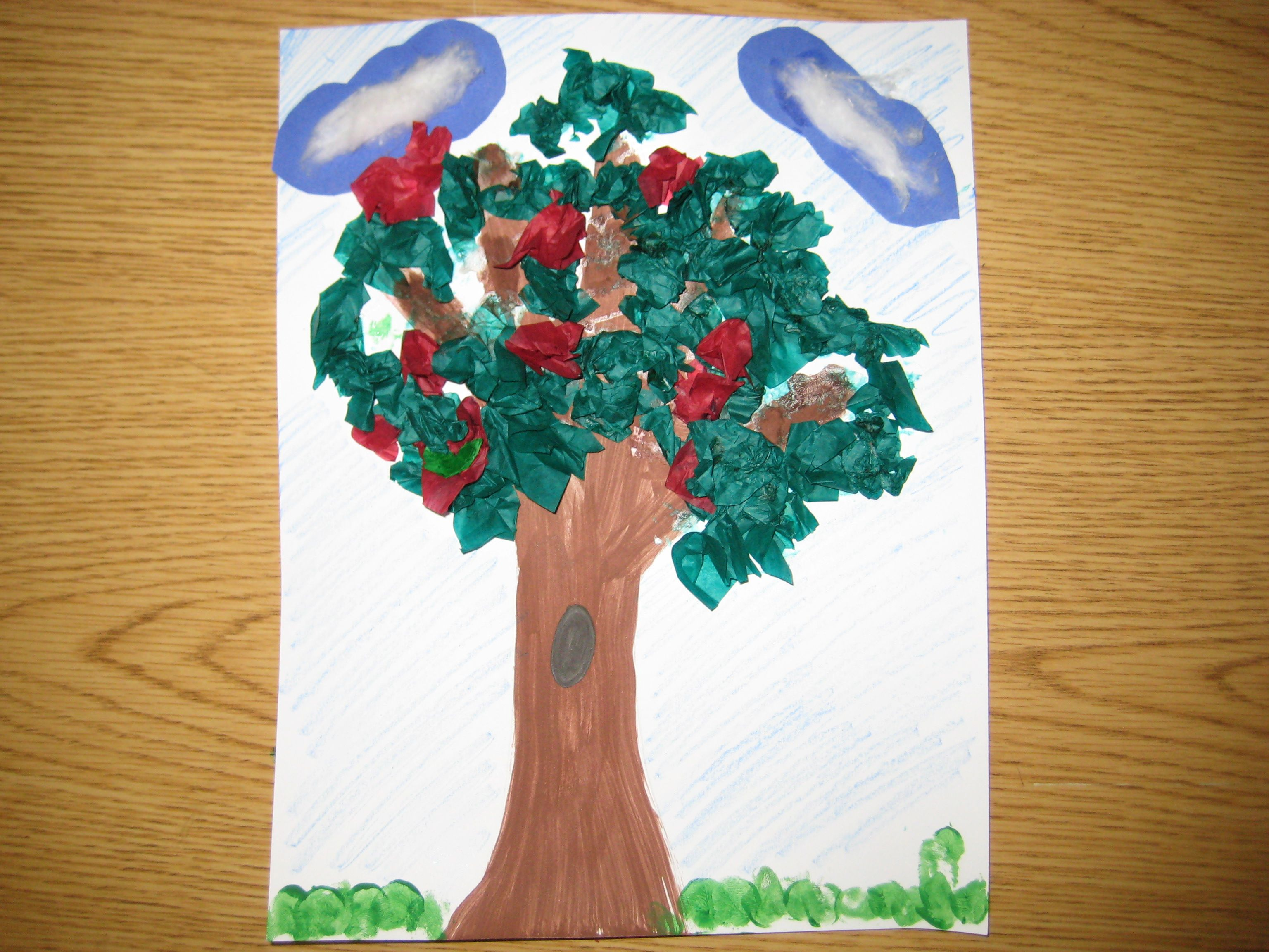 Art Activity Washington S Cherry Tree With Images