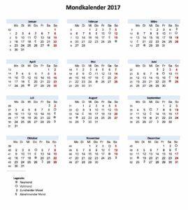 mondkalender 2017 pdf muster und vorlagen pinterest kalender mondkalender und mond. Black Bedroom Furniture Sets. Home Design Ideas