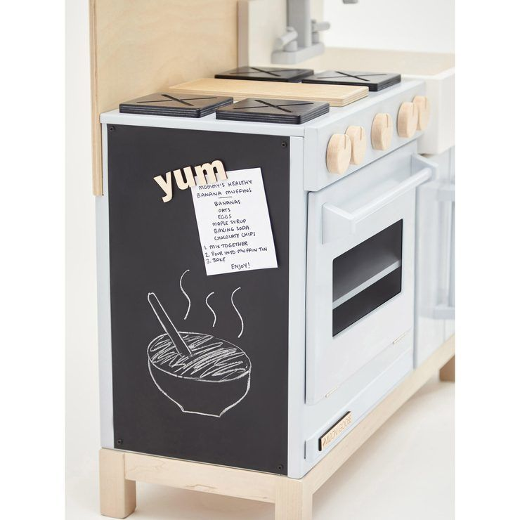 Best Milton Goose Classic Play Kitchen Grey In 2020 Kids 400 x 300