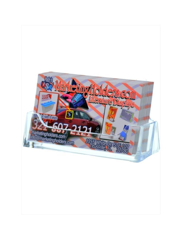 Clear Plastic Business Card Holders Choice Image - Business Card ...