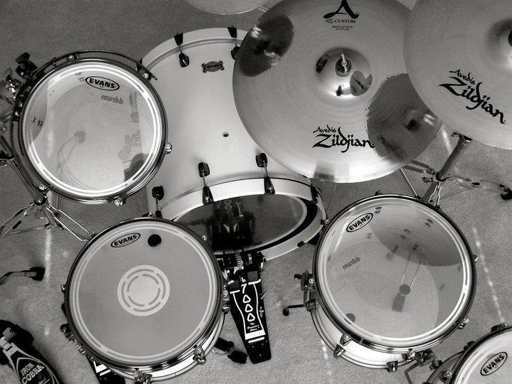Lovely set-up, Zildjian cymbals all round!