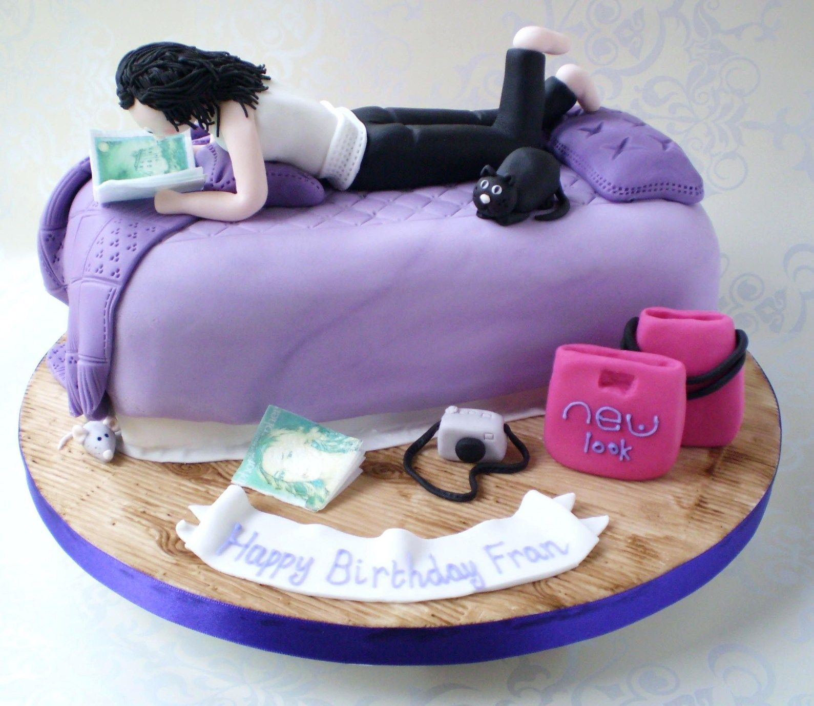 Miraculous 25 Awesome Photo Of Teenage Girl Birthday Cakes Birthday Cake Personalised Birthday Cards Veneteletsinfo
