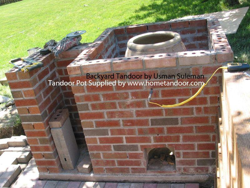 Merveilleux Backyard Tandoori Brick Layout