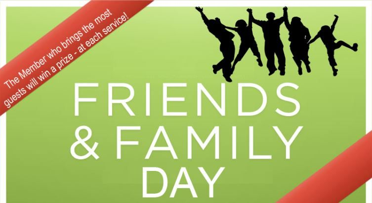 Family And Friends Day Church Theme Ministry Ideas Friends