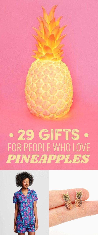 Pineapples Men Summer Bathing suit creative gift