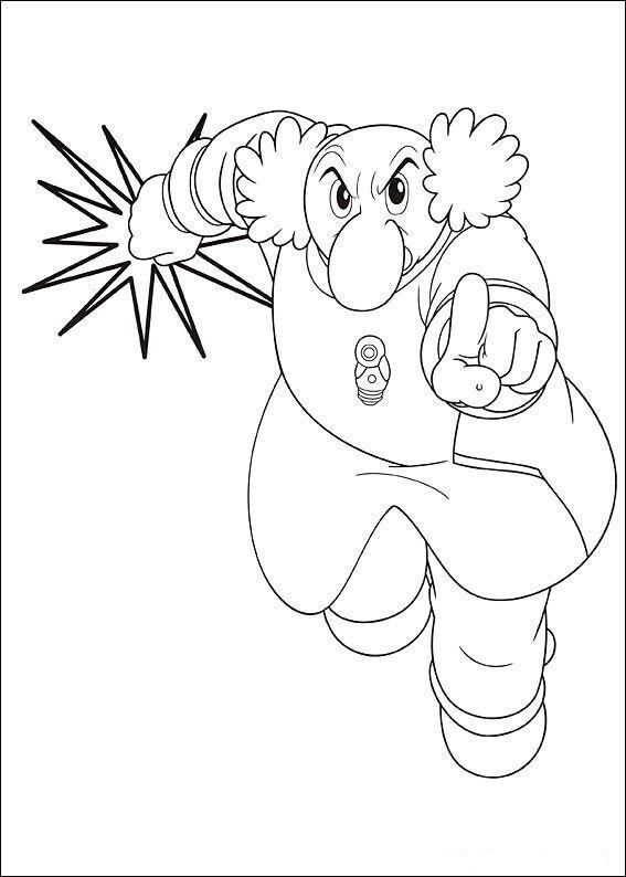 Astro Boy Coloring Pages 10 | Dessin | Pinterest | Astro boy