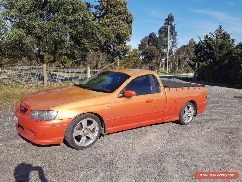 Car For Sale Ba Xr6 Turbo Ute Cars For Sale Ford Falcon Turbo