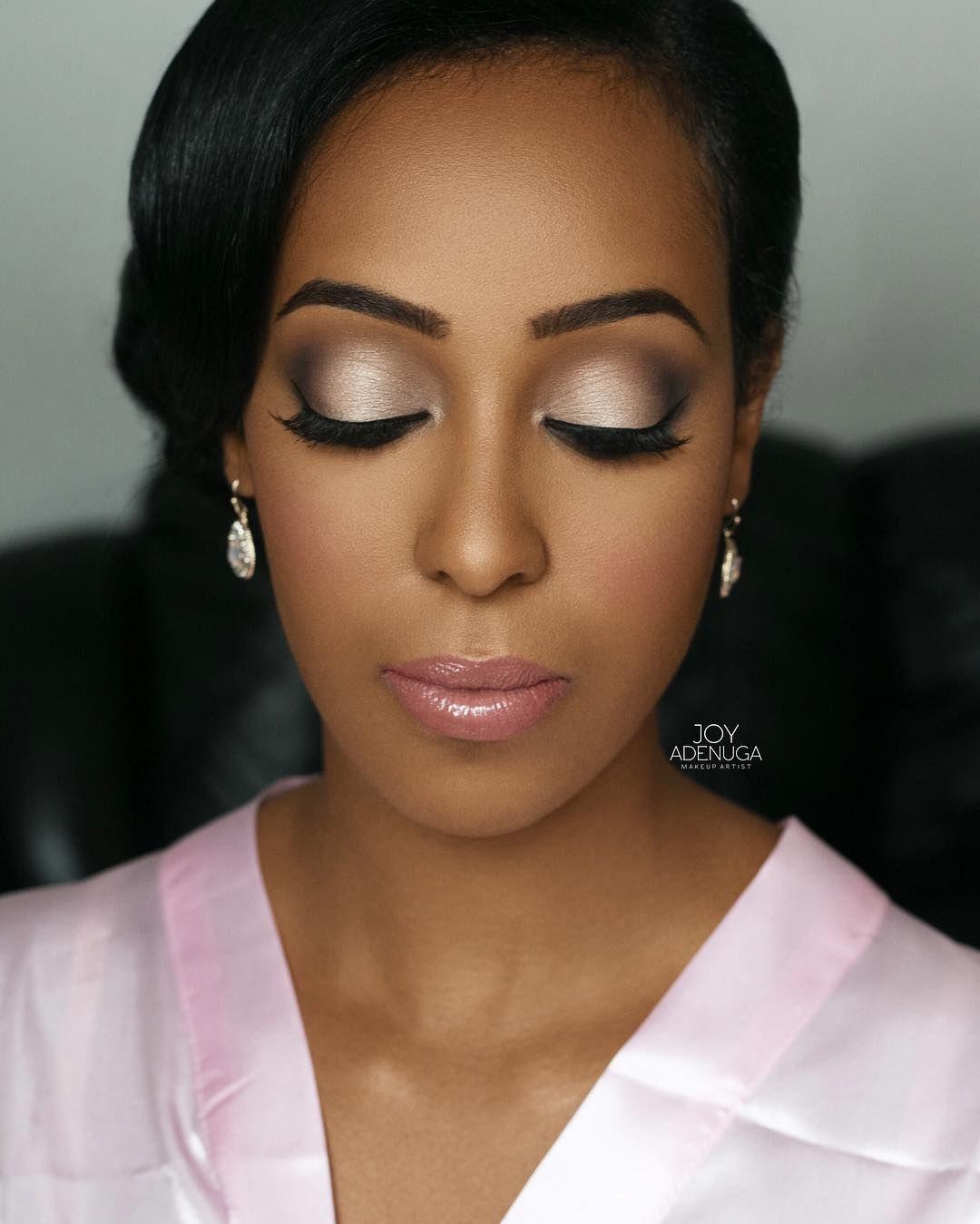 Makeup by joyadenuga on the brides beautiful sister hair by