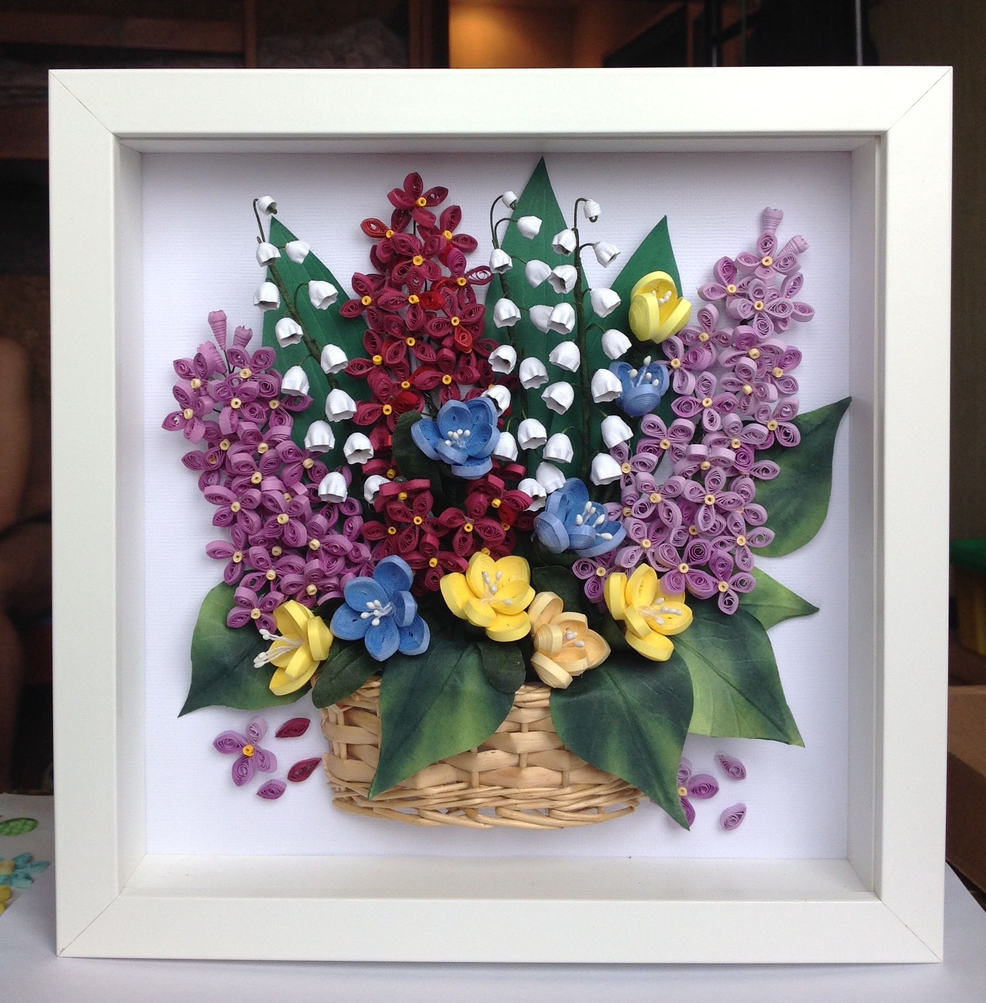 Pin by Reni Norowisnu on shadow box  Pinterest  Quilling Paper