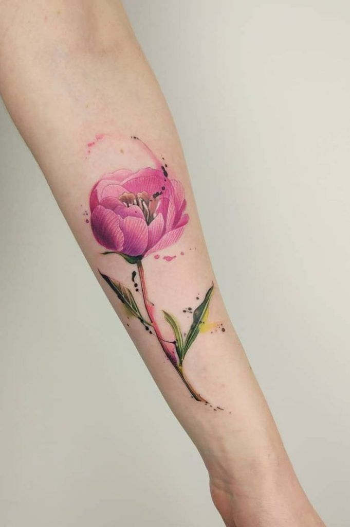 42 Mind Blowing Koi Tattoo Designs Examples: 36 Most Beautiful Flower Tattoo Designs To Blow Your Mind