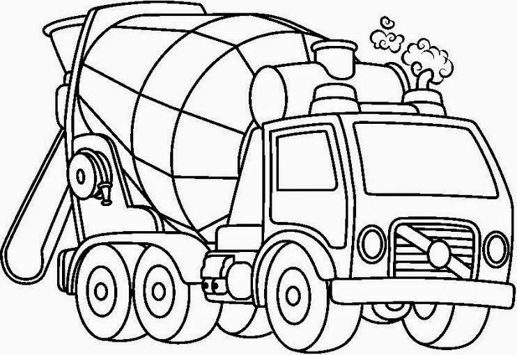 Medios de transporte para colorear. Dibujos de calidad